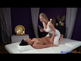 Jennifer mendez and nathaly cherie - massagerооms [oiled, lesbian, big tits]