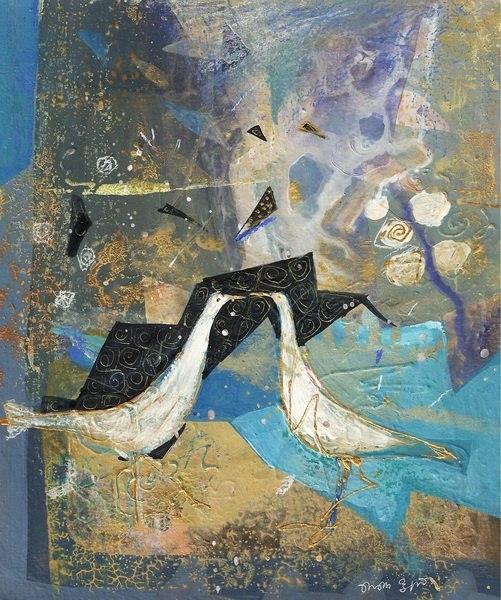 Нино Перадзе - современная грузинская художница и не только художница.