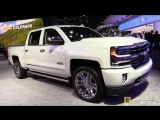 2018 Chevrolet Silverado High Country - Exterior and Interior Walkaround - 2018 Detroit Auto Show