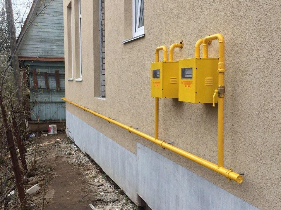 Газификация частного дома в Воскресенске (СНТ, ИЖС), Коломна (фото)