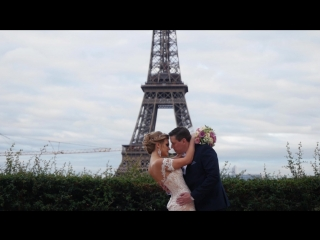 Paris for love (свадьба в париже)