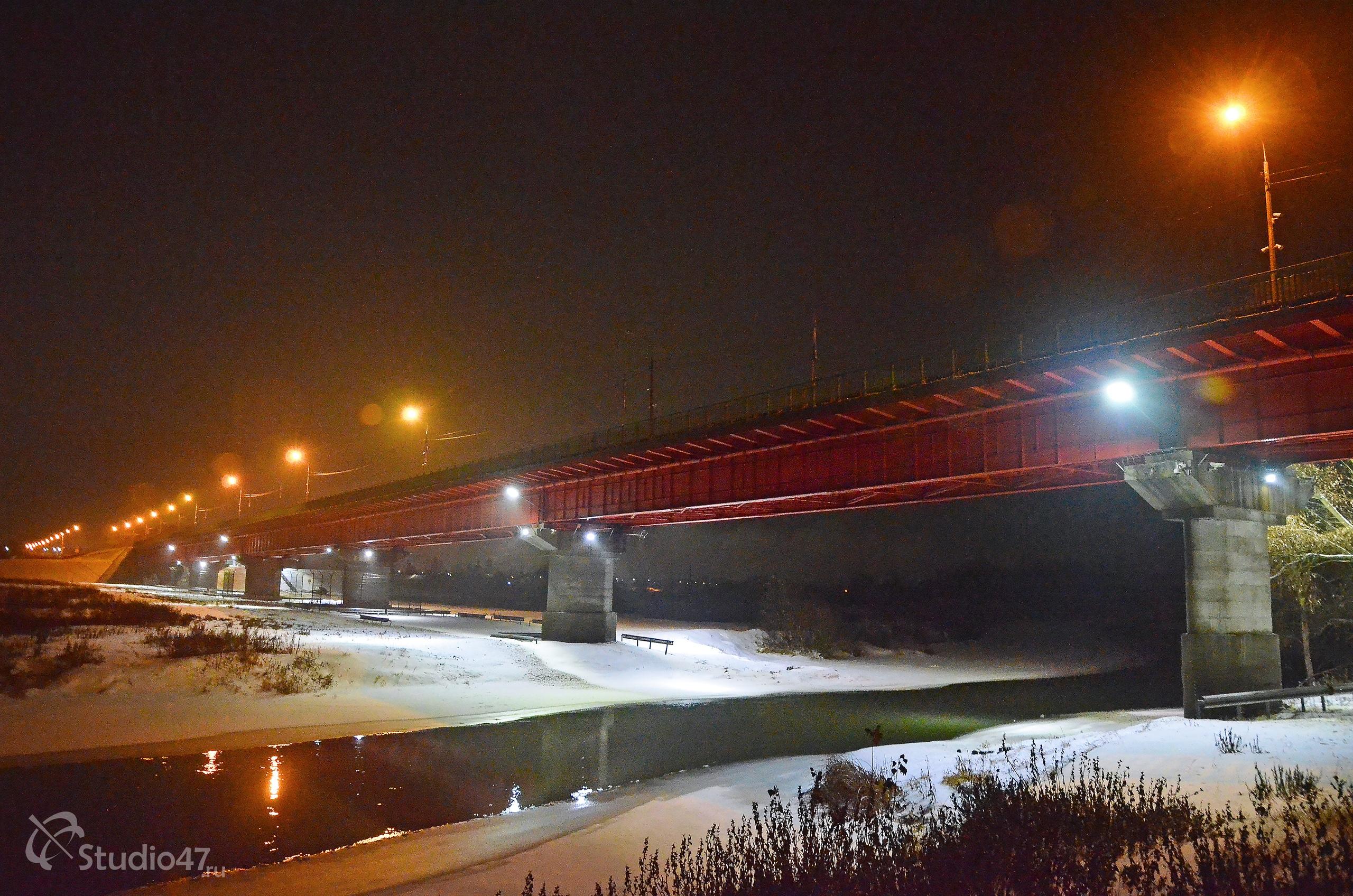 Красный мост в Борисоглебске