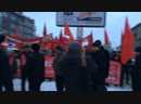 НГС-live коммунисты отмечают 101-ю годовщину Октябрьской революции