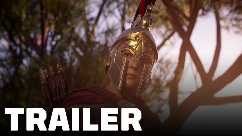 Assassin's Creed Odyssey Kassandra Cinematic Trailer - Gamescom 2018