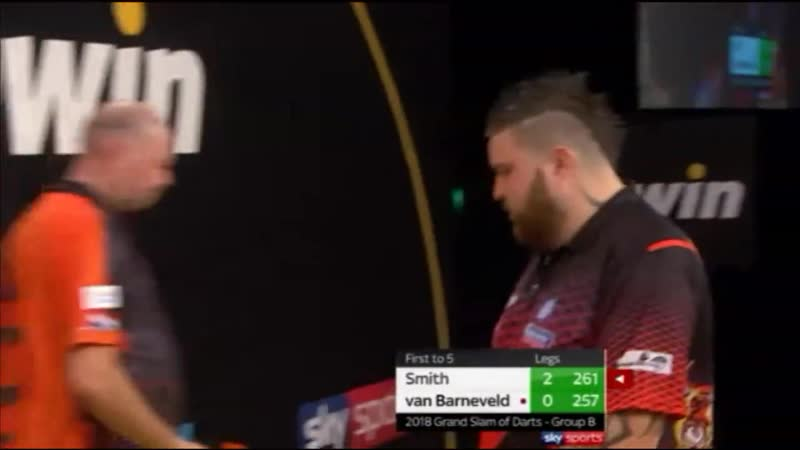 2018 Grand Slam of Darts Group B Smith vs van Barneveld
