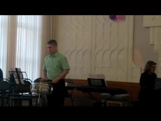 Отчетный концерт дипломанта Егора