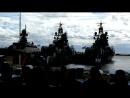 Выступление на юбилее36 бригады ракетных кораблей.
