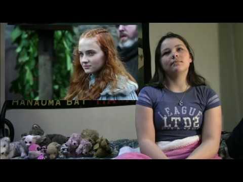 Anna watches