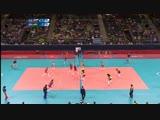 Brazil vs Russian Fed. - Women#039s Volleyball Quarterfinal _ London 2012