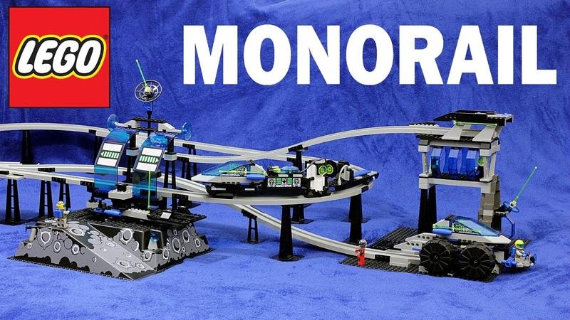 Лего 6991 Поезд Монорельс Обзор LEGO 6991 Monorail Train Review