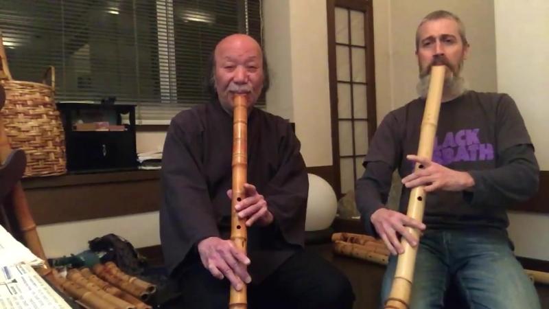 Корнелиус Буст и Ацуя Окуда: живое исполнение