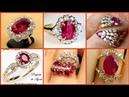 Engagment Ruby Diamond Rings Designs Beautiful Ruby Diamond Rings