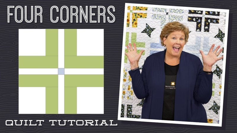 Make a Four Corners Quilt with Jenny Doan of Missouri Star (Instructional Video)