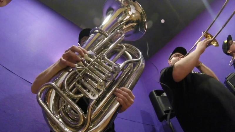 Первый конкурсный участник Фестиваля Духовых оркестров на ВДНХ — BOOM BRASS BAND