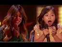 Celine Tam: Wonder-child Singer Gets Laverne Cox's GOLDEN BUZZER | America's Got Talent 2017