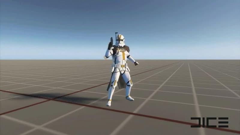 Star Wars Battlefront II - новый внешний вид клона-офицера