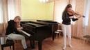КАВЕР/COVER на скрипке и пианино Король и Шут/Лесник они просто потрясающие