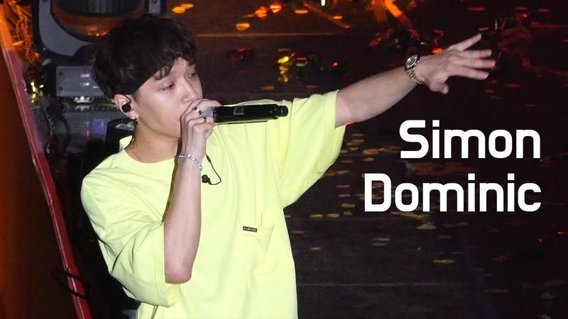 [04.08.2018] Simon D - 귀가본능 (KB Kookmin Bank Liiv Concert)