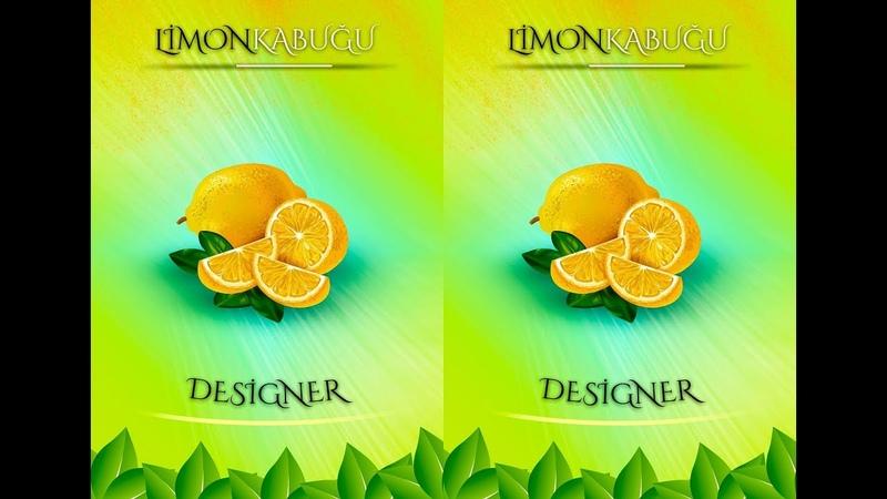 Photoshop poster hazırlama - reklam afişi
