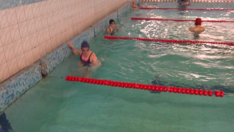 Жанна Син., 50 м, брасс, 28 занятие