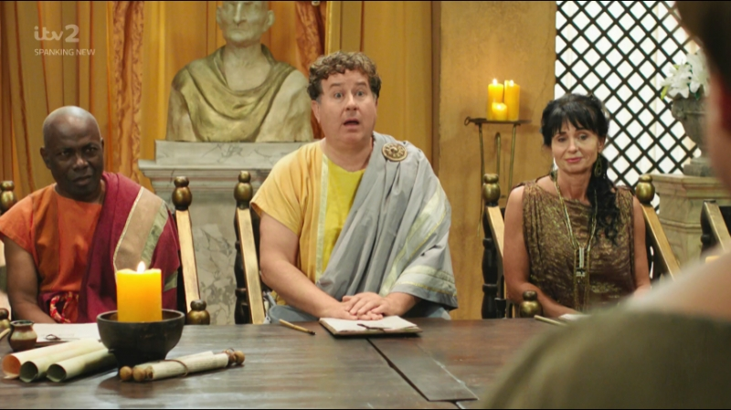 "Plebs Season 4, Episode 3 «The Marathon"" (itv 2 2018 UK)(ENG)"
