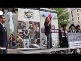 Al- Quds Rally, Toronto, ON. Eva Karene Bartlett