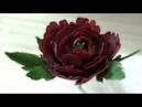 Пион из Мастики Сахарные цветы Peony of Mastic Sugar flowers Я ТОРТодел