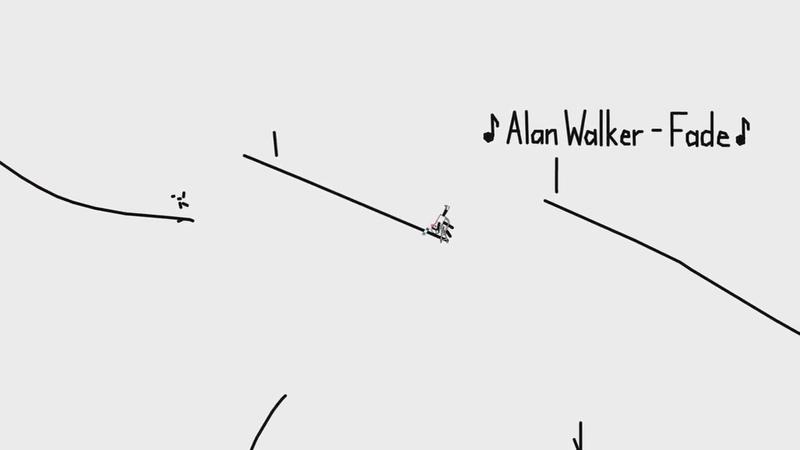Визуализация песни Alan Walker - Fade