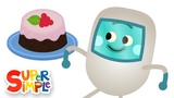 The Bumble Nums Make Erupting Raspberry Lava Cake Cartoon For Kids