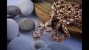 Мужской крестик ☦ из красного золота с бриллиантами 💎 цепочка ⛓ и браслет 🔗 плетения Краб Большой