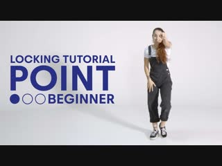 Locking with funky j i the point beginner