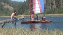 Outrigger Sailing on Big River in Mendocino