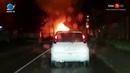 15.06.2018 Частный дом сгорел в Южно-Сахалинске в ночь на 15 июня