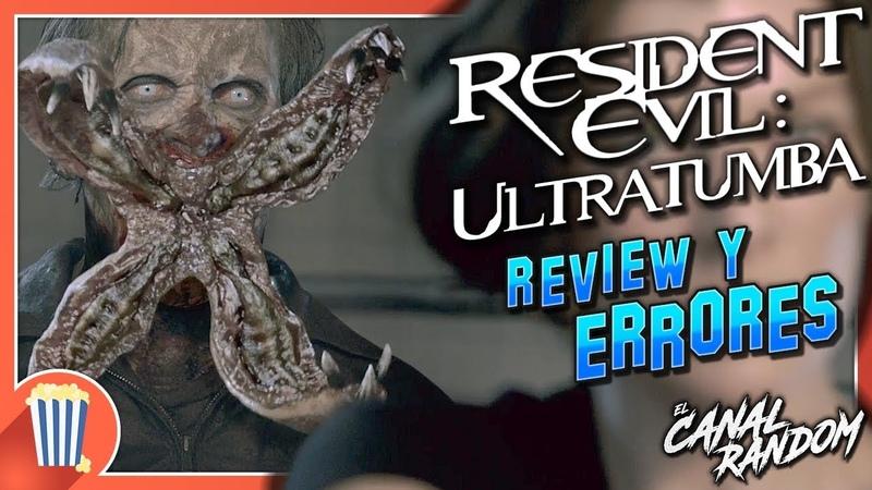 ERRORES de películas RESIDENT EVIL 4 Afterlife Crítica y Resumen