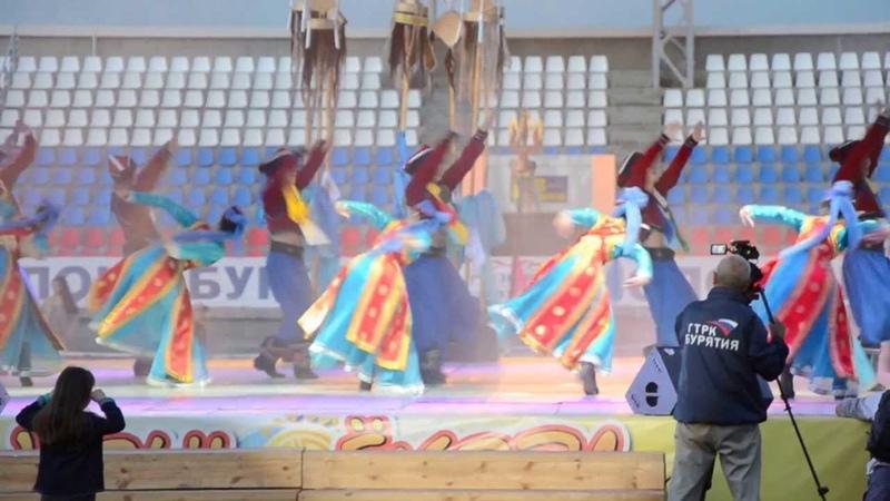 2013 Бурятия Ночь Ехора театр Байкал Бурятский танец Yohor Night Ulan-Ude