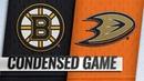 02/15/19 Condensed Game: Bruins @ Ducks