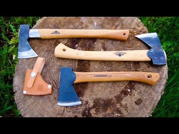 Condor Tool and Knife Scout Hatchet vs Gransfors Bruk Wildlife Hatchet Outdoor Axe