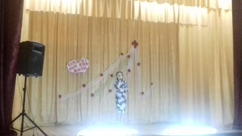 Җырчы кызыбыз- Гөлшаһидә Габделхакова