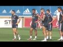 Real Madrid C.F. - Pre-Athletic Club training session