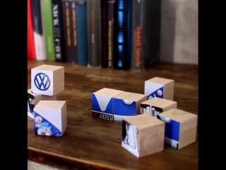 Volkswagen кубики