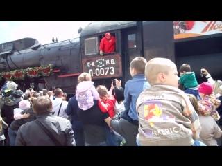 DSCN0413 Ретро - поезд