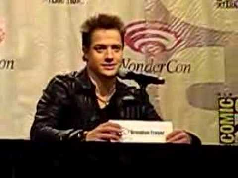 Brendan Fraser at WonderCon 2008 On George of the Jungle