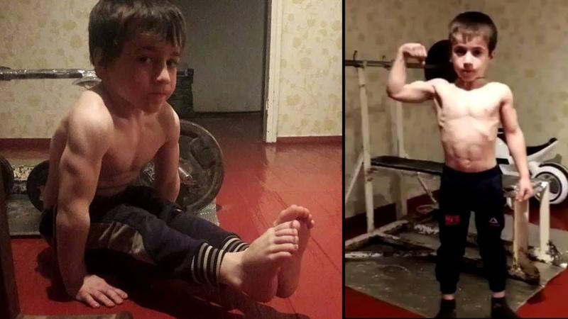 5 ЛЕТНИЙ ЧЕЧЕНЕЦ ПОБИЛ РЕКОРД МИРА 4105 отжиманий