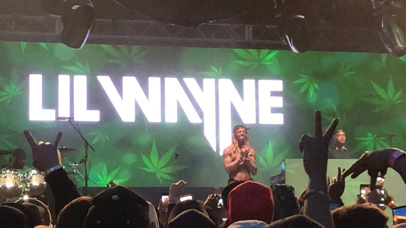 Lil Wayne live at High Times Cannabis Cup Michigan 2018 in Clio, MI (Full Set)
