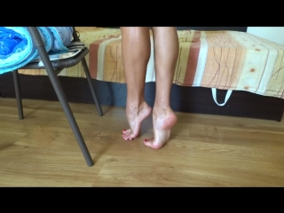 Monica Perfect Soles and High Arches [feet, legs, foots, play feet, ножки]