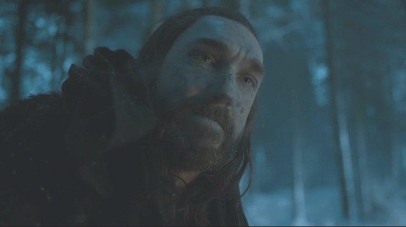Benjen Stark con Bran Stark y Meera Reed Juego de Tronos Español HD