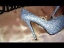 туфли инкрустируемые стразами стекло от мастера инкрустации Елизавета Кюрчева Дудаева LizaDiamondUa