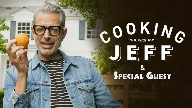 Cooking With Jeff Goldblum and Special Guest
