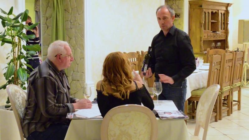 Дегустация вин Никиты Михалкова в ресторане ZAFERAN