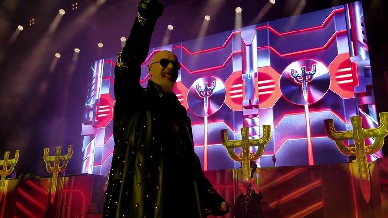 Judas Priest - Freewheel Burning Michigan Lottery Amphitheatre at Freedom Hill 8-24-18